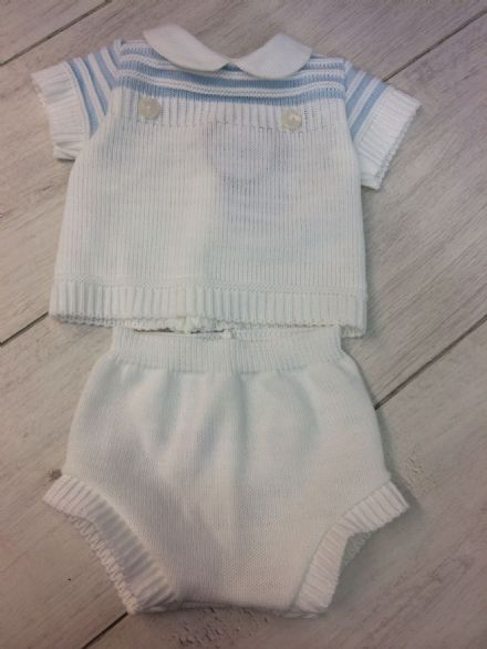 Milo Knitted Jam Pants Set